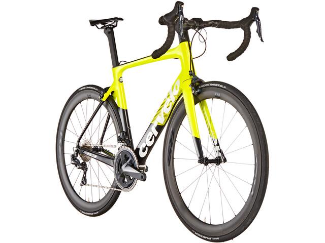 Cervelo S3 Ultegra Di2 8050 Racercykel gul/sort (2019) | Racercykler